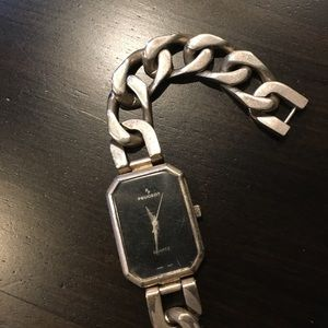 Peugeot Accessories - Silver tone Chain Link PEUGEOT Watch