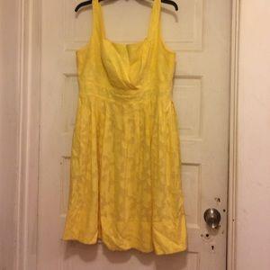Donna Morgan Dresses & Skirts - Spring yellow sun dress