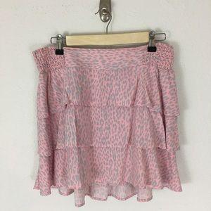 torrid Dresses & Skirts - Torrid Tiered Ruffle Mini Skirt Sz O