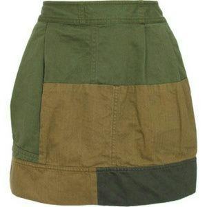 EDUN Dresses & Skirts - Edun Mini military skirt
