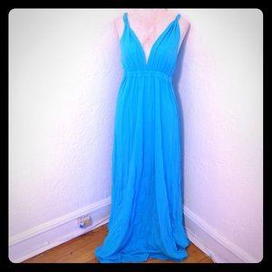Gypsy 05 Dresses & Skirts - NWT Gypsy05 blue boho maxi dress