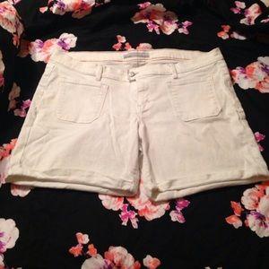 Plus size shorts size 18