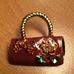 Jewelry - New Brown Purse 👛 Brooch