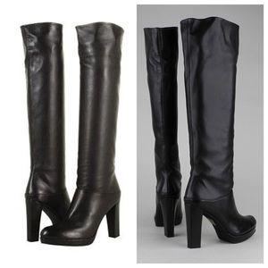Stuart Weitzman Shoes - Stuart Weitzman Leather Crushable Boots