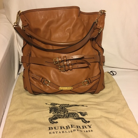 Burberry Bridle Gosford Leather Hobo
