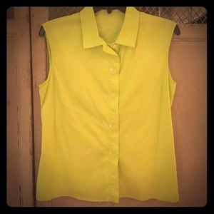 Jil Sander Tops - Jil Sander Couture cotton Sleeveless Blouse!