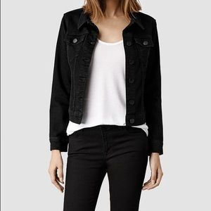 All Saints Jackets & Blazers - ⭐️SALE⭐️ AllSaints black denim jacket
