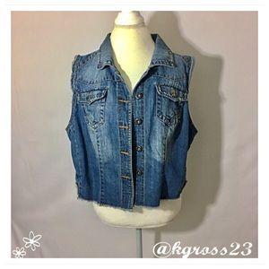 Highway Jeans Jackets & Blazers - Size 2X denim vest
