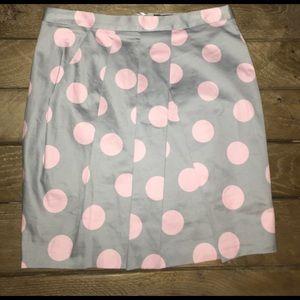 asos polka dot pencil skirt