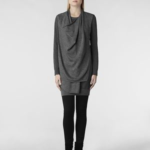 All Saints Dresses & Skirts - ⭐️SALE⭐️AllSaints wool Drina dress in grey