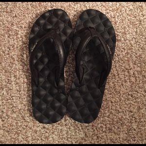 Reef Shoes - 🌞Black reef flip flops👙