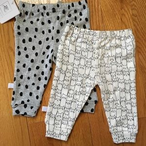 Rosie Pope Other - Black & White Cat Pant Set