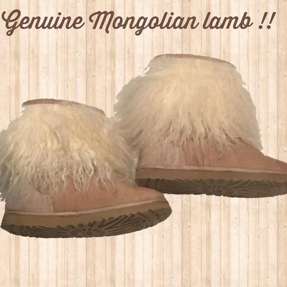 2820c62f625 Mongolian Lamb Ugg Boots