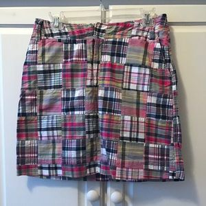 like new - plaid skirt