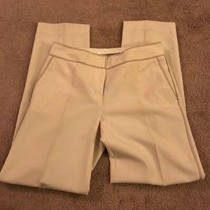 Cream piped pocket trim slack