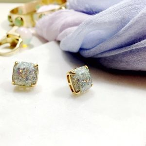 Kate Spade Opal Glitter Stud Earrings