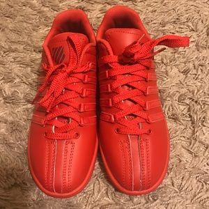 K-Swiss Shoes - RED K-Swiss