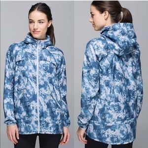 RARE Lululemon miss misty II jacket windbreaker