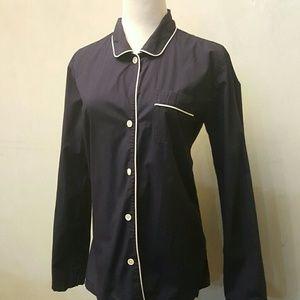 J. Crew Tops - J. Crew navy blouse