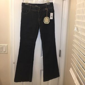 NWT Cabi dark wash boot cut jeans size 8