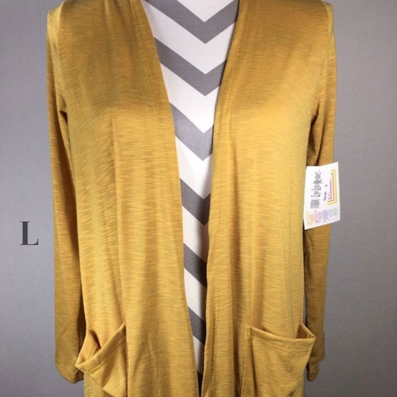 29% off LuLaRoe Sweaters - NWOT Lularoe Sarah mustard yellow ...