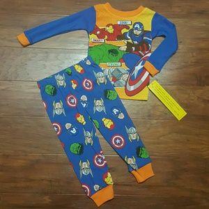Marvel Other - Boys NWT MARVEL 2 Pc Pajama Set