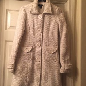 Poetry Clothing  Jackets & Blazers - White vintage coat