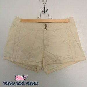 Vineyard Vines Pants - EUC Vineyard Vines Khaki Cream Tan Cotton Shorts 4