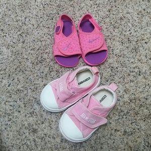 Converse Other - Girls 5C bundle shoes