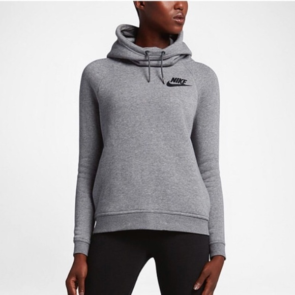 really comfortable factory outlets cute Nike rally funnel neck hoodie pants jogger