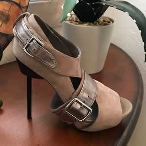 United Nude Shoes - United Nude leather Spikes w/ Metallic Straps