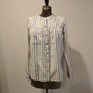 Madewell Striped Boiler Shirt