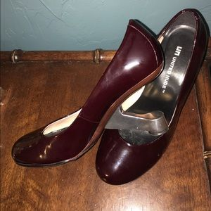 United Nude Shoes - United Nude UK Bordeaux Pumps w/Architectural Heel