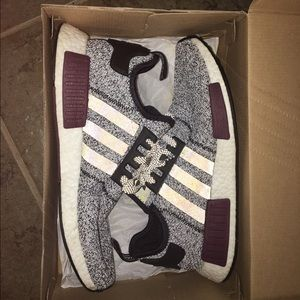 Adidas Nmd R1 Black And Tan Size 9