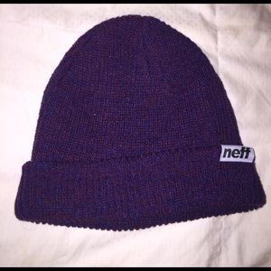 Neff Other - Neff Red and Blue beanie