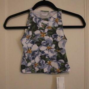 NEW American apparel crop top