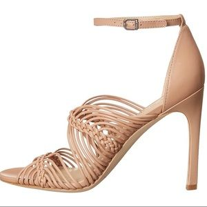 e9764d72125 Via Spiga Shoes - Via Spiga nude blush Dorian leather strappy heels