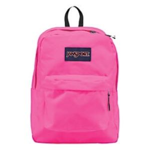 Jansport Handbags - NEW JANSPORT FLUORESCENT PINK BACKPACK