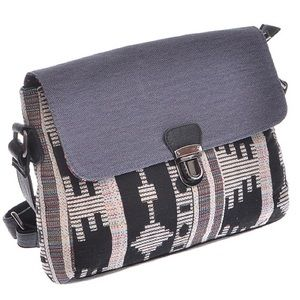 Handbags - 🆕Tribal/denim print school Cross-body Handbag