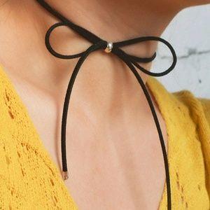 Jewelry - Black Bow Choker
