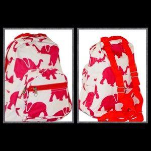 Elephant Print kids Backpack