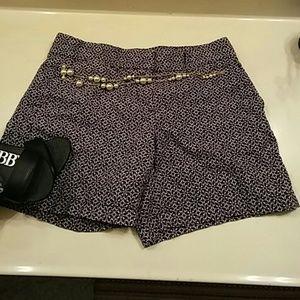 Ann Taylor Loft Floral Shorts