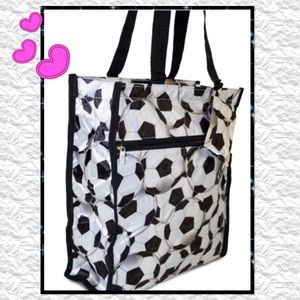 Soccer ⚽️ Ball Tote with Coin Purse