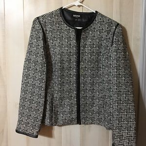 Kasper Jackets & Blazers - Kasper Lined Zippered Jacket Size 14p