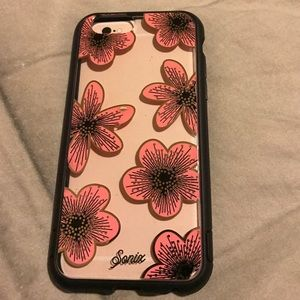 Sonix pink flowers tough iPhone 6/6s case