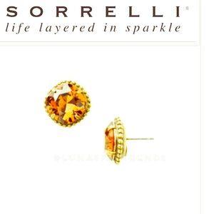Sorrelli Jewelry - SORRELLI Cushion Cut Solitaire Earrings