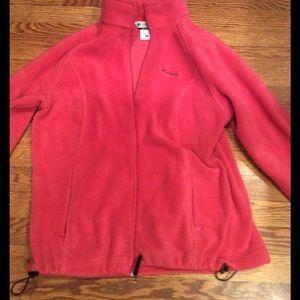 Columbia Tops - Columbia XL pink fleece