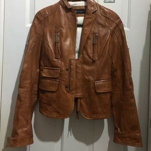 DSQUARED Jackets & Blazers - Dsquared2 small leather motorcycle jacket