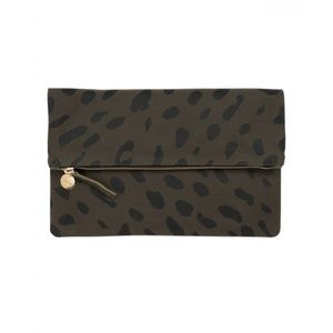 Clare Vivier Handbags - Green Clare V Clutch
