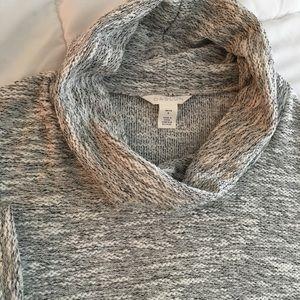 Caslon Sweaters - Caslon gray cowl neck sweater